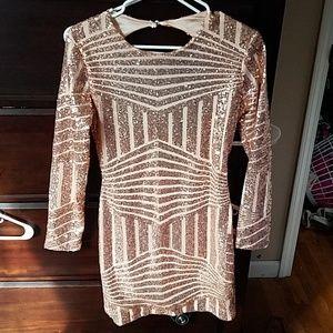Dresses & Skirts - Sequin mini dress size small